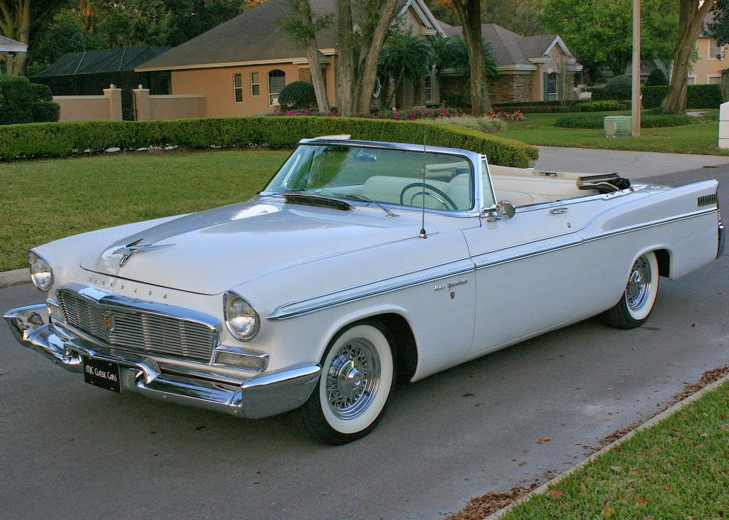 New 300 Chrysler 2016 >> All American Classic Cars: 1956 Chrysler New Yorker 2-Door Convertible
