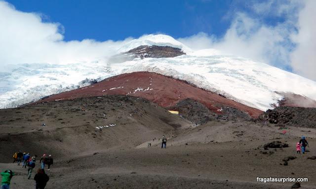 Base do Vulcão Cotopaxi, Equador, a 4.500 metros de altitude