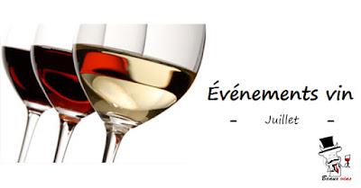 Beaux-Vins événement juillet 2018 vin