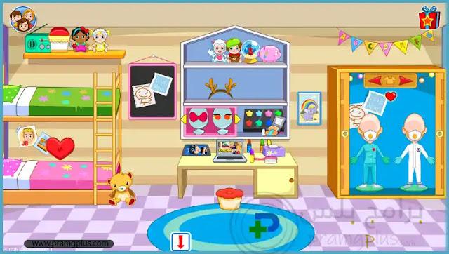غرفة نوم الأطفال