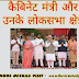 केबिनेट मंत्री  & लोकसभा क्षेत्र 2019 - Cabinet Minister list 2019 in hindi