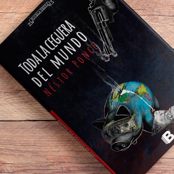 Diseño de portada del libro Toda la ceguera del mundo