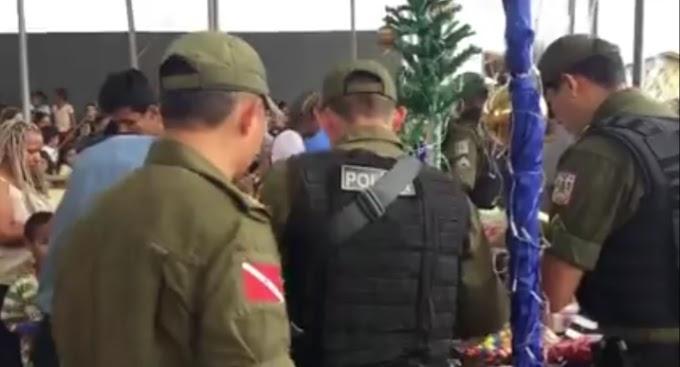 Em Altamira: PM promove Natal solidário e alegra crianças do Jatobá