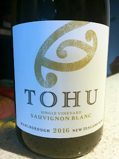 Tohu Single Vineyard Sauvignon Blanc 2016 (89 pts)
