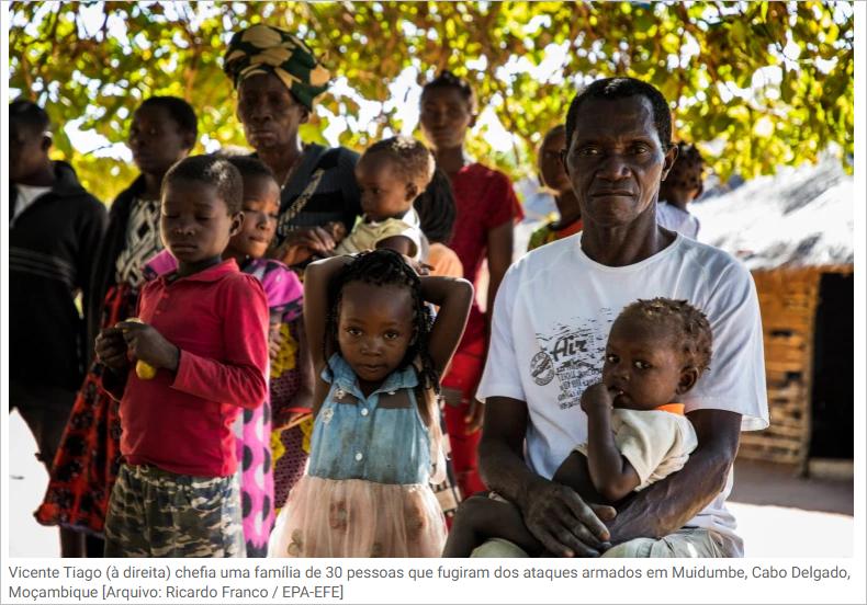 """Cabo Delgado sofrendo extermínio """"e violações dos direitos humanos"""""""