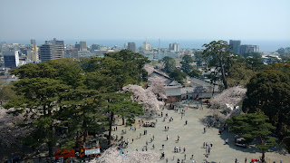 Odawara Castle view from top
