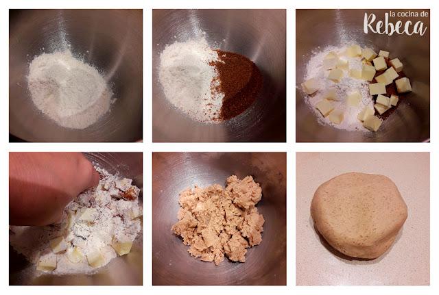 Receta de galletas fáciles con chips de chocolate: la masa