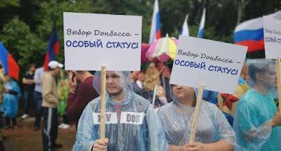 Росія продавлює особливий статус ОРДЛО