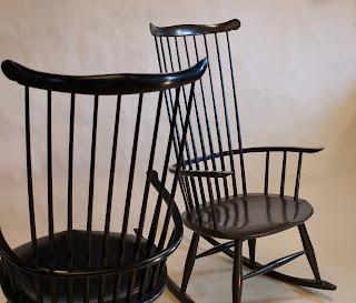 windsor rocking chairs, hand made, vermont, timothyclark.com