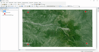 Google Imagery Georeferencing