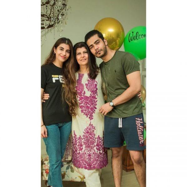 Rubina Ashraf with her Daughter Minna Tariq