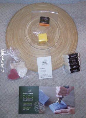 Souvenirs de l'atelier fabrication de savons