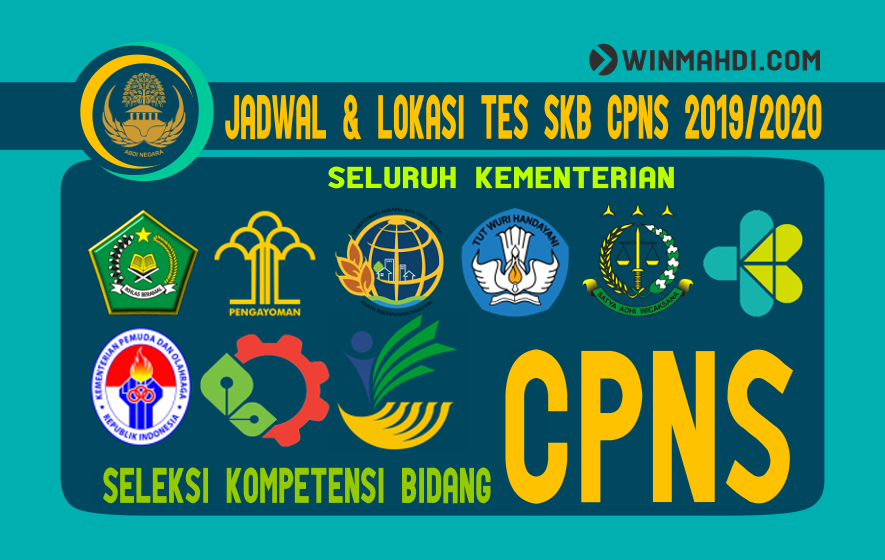 JADWAL TES SKB CPNS 2019-2020