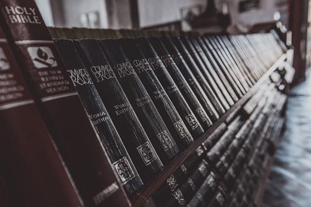 Book Shelf - Photo by Jez Timms on Unsplash