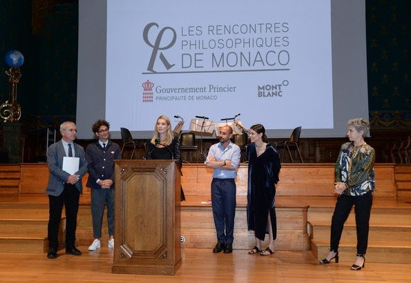 Charlotte Casiraghi attended the 2018 Philosophical Encounters held at the Oceanographic Museum in Monaco