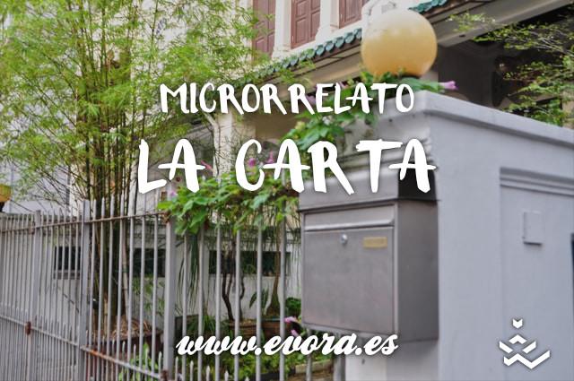Microrrelato: La carta