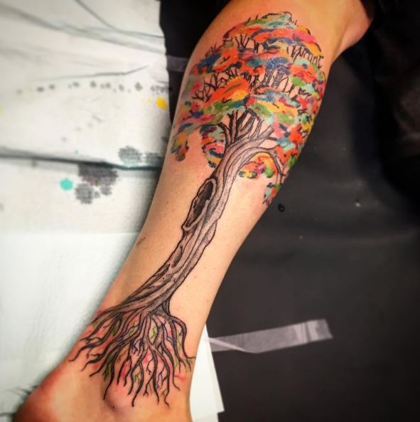 50 Meaningful Tree Tattoos Designs for Nature Lovers () of 27 by Patrick