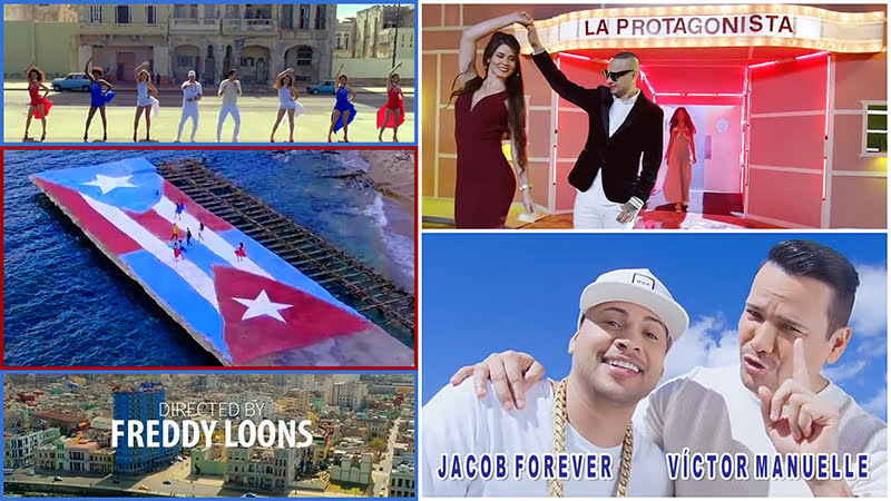 Jacob Forever y Víctor Manuelle - ¨La Protagonista¨ - Videoclip - Dirección: Freddy Loons. Portal Del Vídeo Clip Cubano - 01