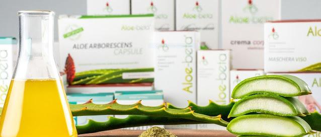 Prodotti a base di Aloe Arborescens