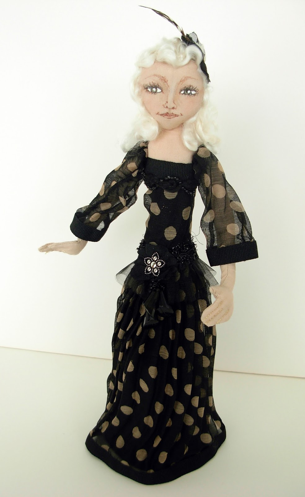 """*NEW* CLOTH ART DOLL PATTERN /""""MERMAID/"""" BY CHRISTINE SHIVELY PAPER"""