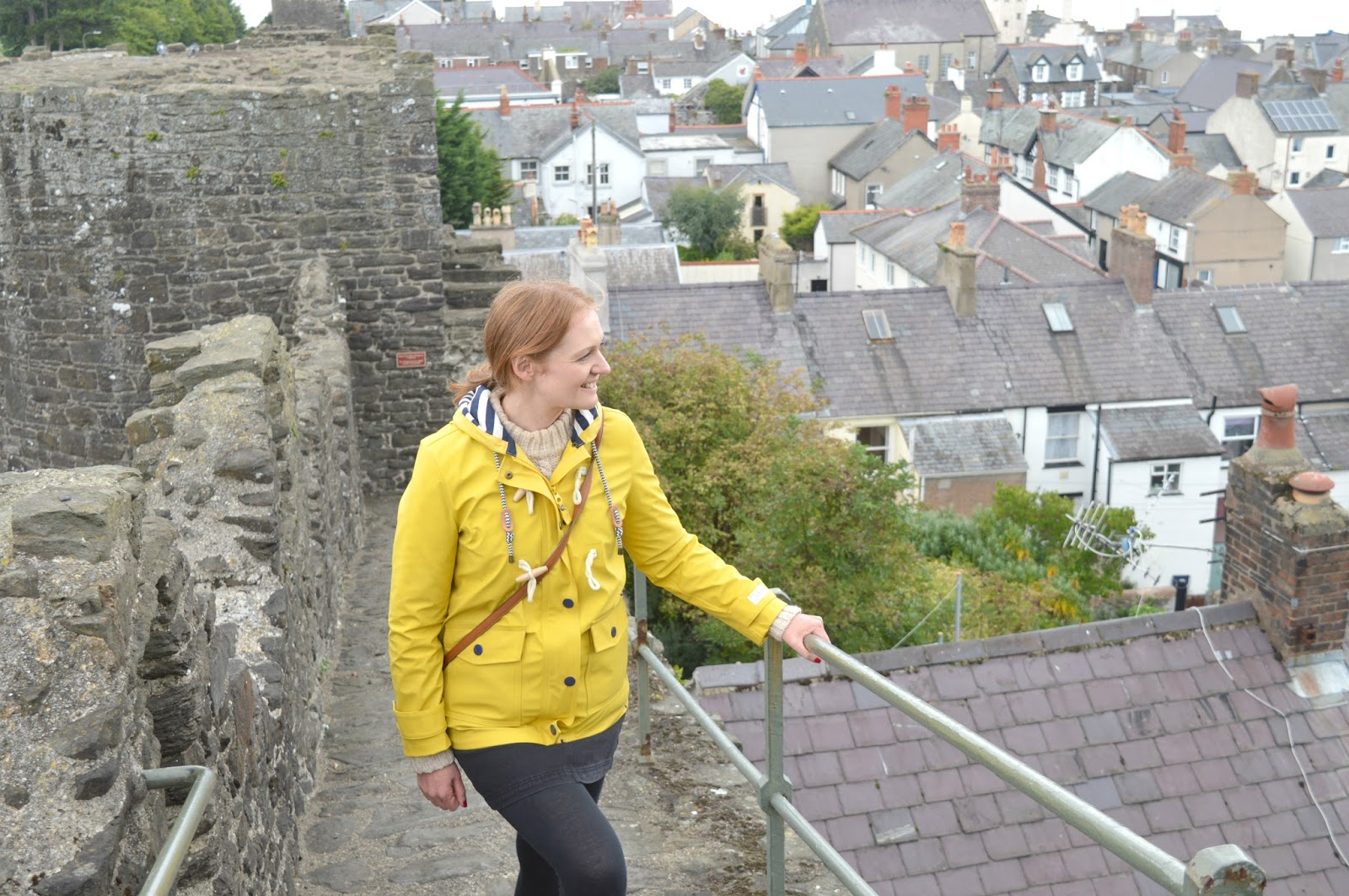 Anglesey and North Wales Staycation - Conwy Walls