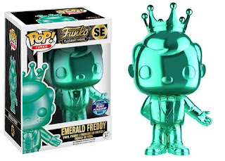 Emerald Chrome Freddy Funko Pop!