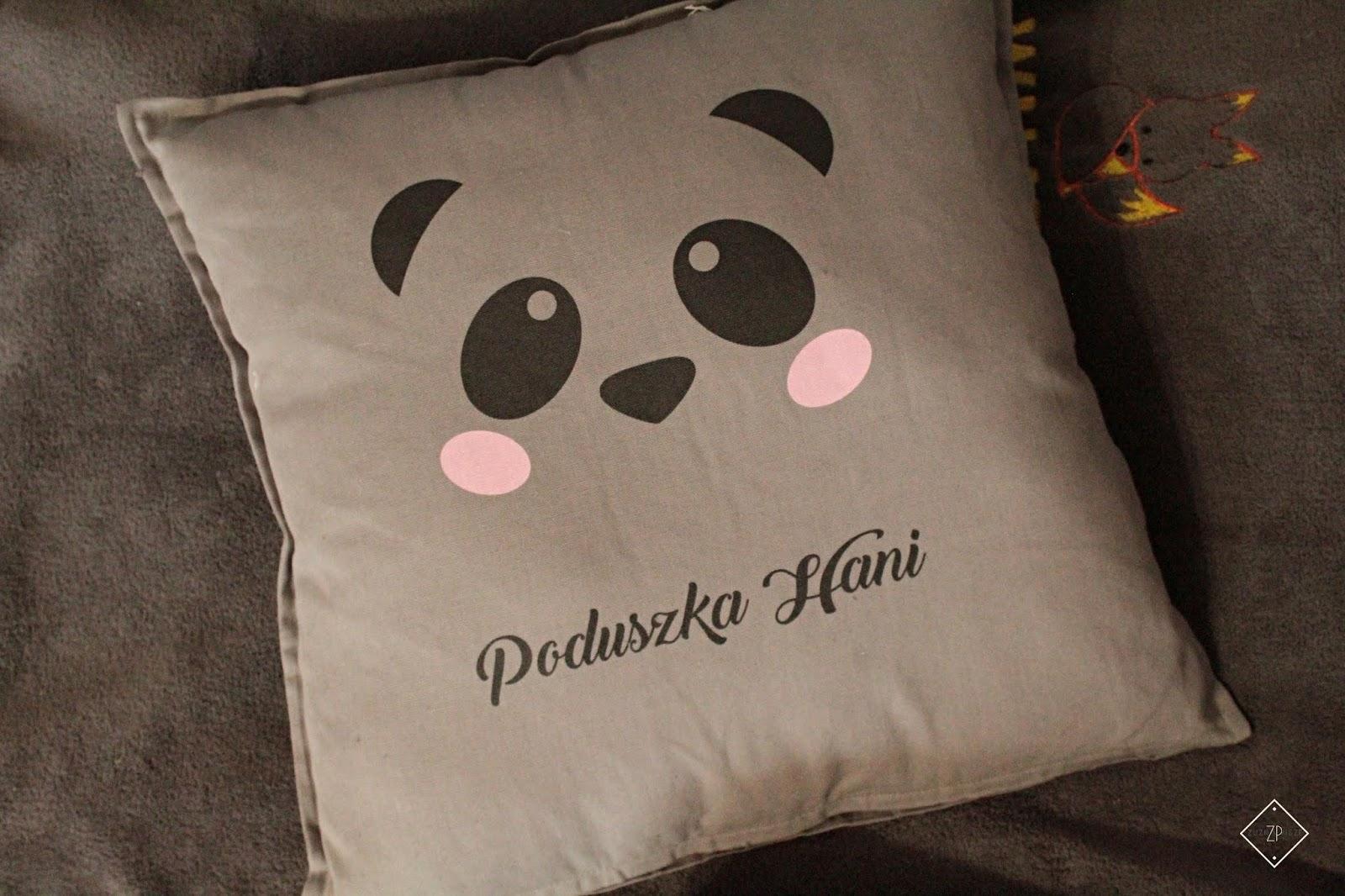 poduszka dekoracyjna panda mygiftdna