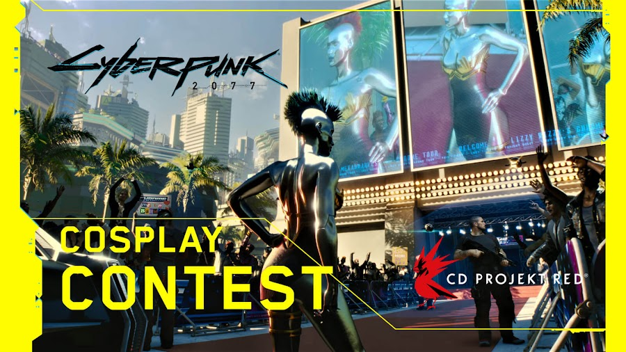 cyberpunk 2077 cosplay contest announced 2020 cd projekt red
