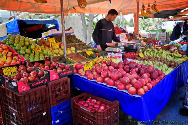 65 πωλητές θα δραστηριοποιηθούν στη λαϊκή αγορά του Άργους το Σάββατο 4/4