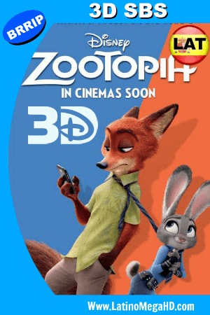 Zootopia (2016) Latino Full 3D SBS 1080P ()