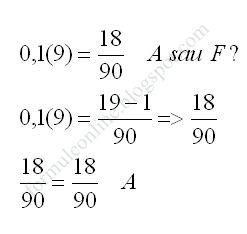 Compararea numerelor rationale exercitiu rezolvat 1