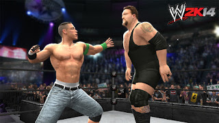 WWE 2k14 pc game wallpapers images screenshots