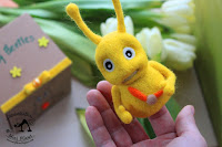 Baby Beetles Tick Tock - Pacynka na Palec