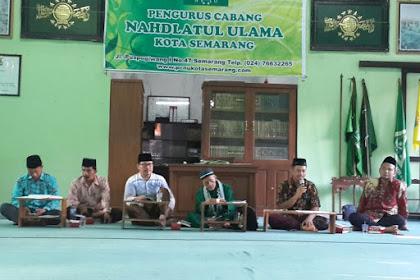 Gudangnya Ahli Qur'an, PCNU Kota Semarang Reorganisasikan JQH
