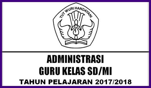 Kelengkapan Administrasi Guru Kelas SD/MI