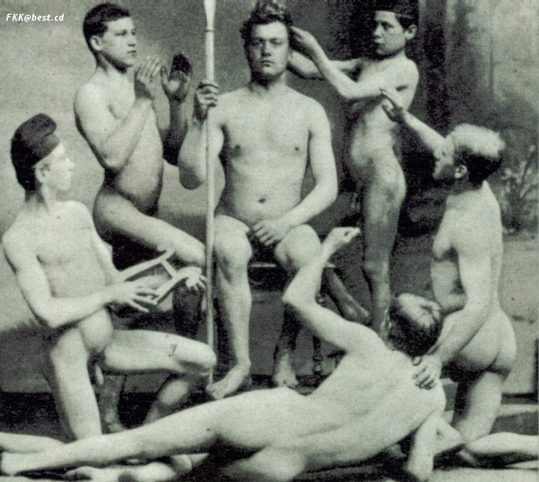 Nude men in history hot pictures
