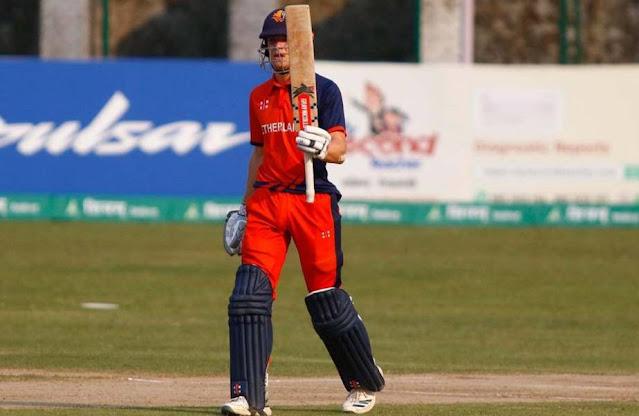 All-round de Leede stars in Netherlands' last-over win against Nepal