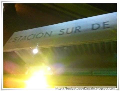 Madrid Bus Station - Estacion Sur de Madrid