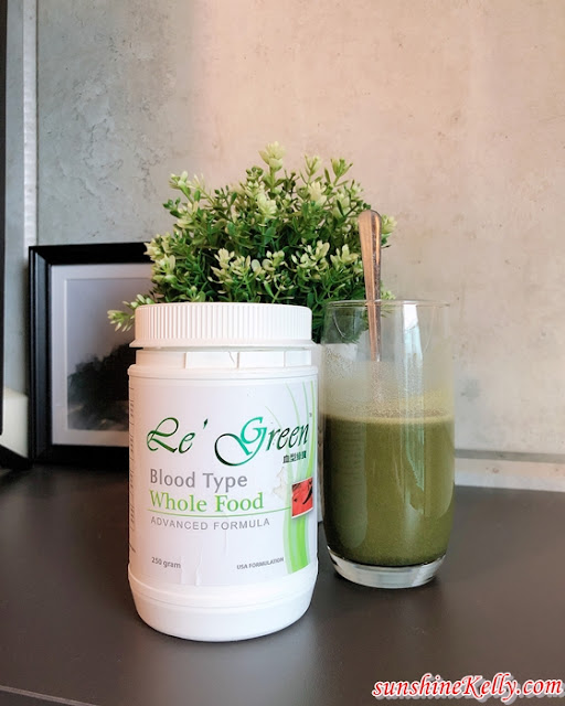 Le Green Blood Type Cell Nutrition Wholefood, Le Green, Blood Type Cell Wholefood, Nutrition Wholefood, Health Food, Health Food Review, Fitness, Healthy Lifestyle, Health