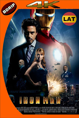 IRON MAN (2008) BDRIP 4K HDR LATINO-INGLES MKV