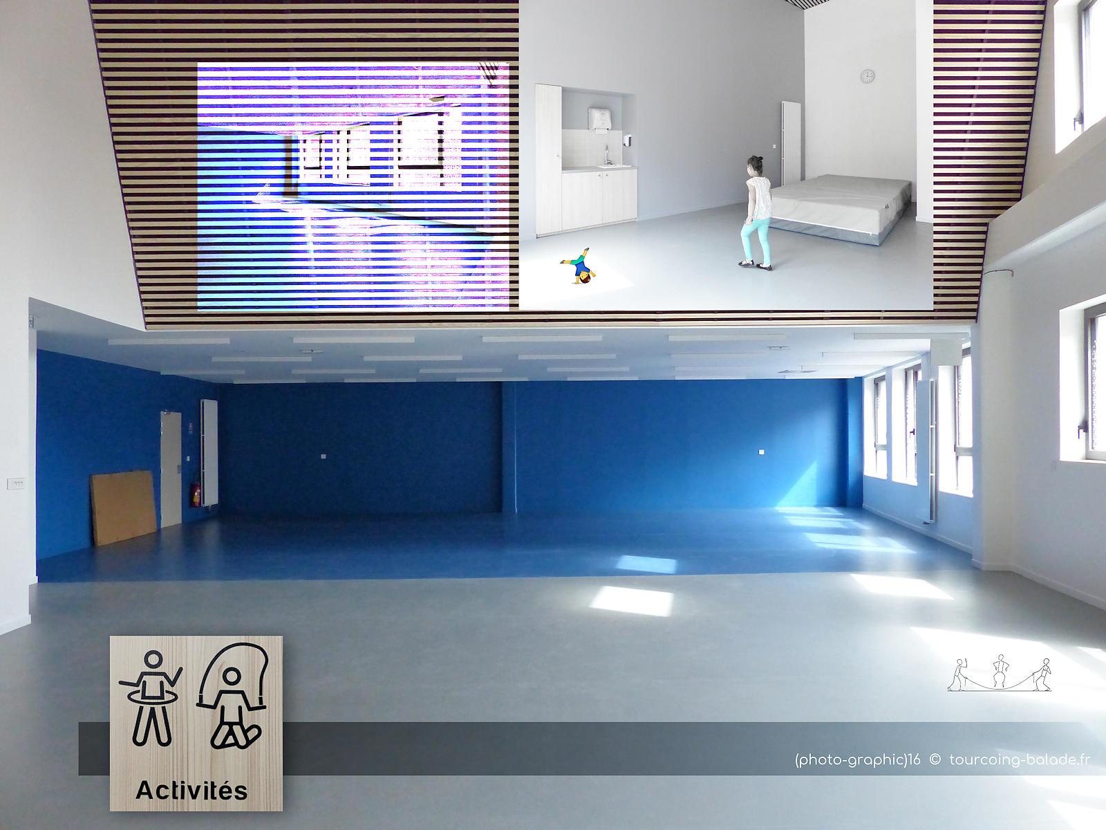 École de Gaulle Tourcoing - Salle d'activités physiques