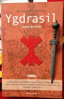 Portada del libro Ygdrasil, de Jorge Baradit