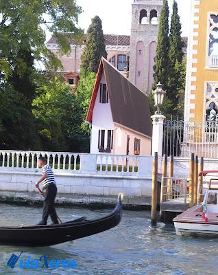 casa estrecha Venecia