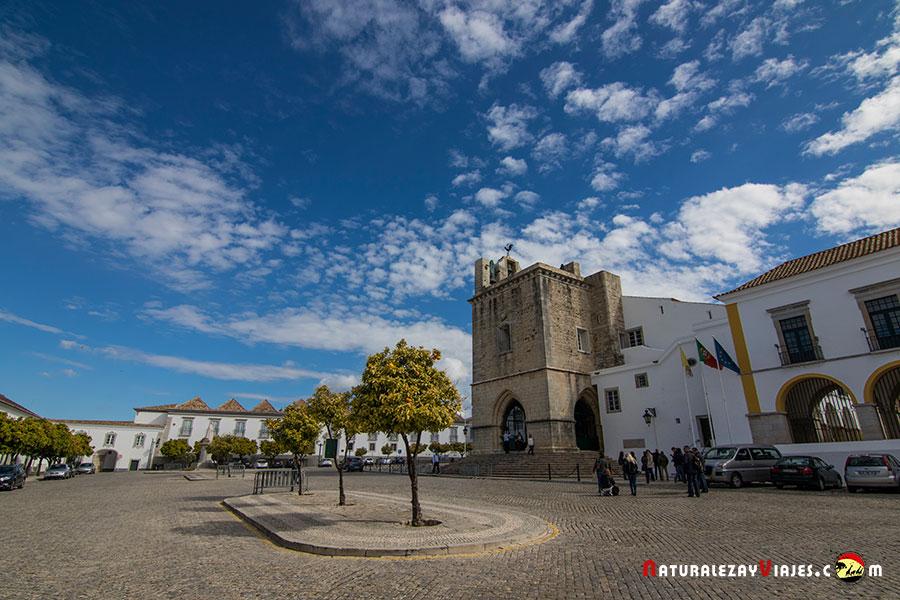 Plaza de la Catedral de Faro, Algarve