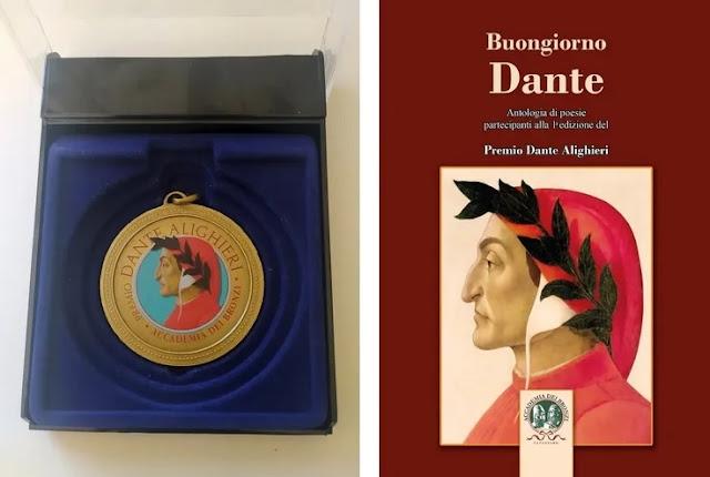 "Il poeta Zef Mulaj riceve la medaglia d'oro ""Dante Aligheri"""