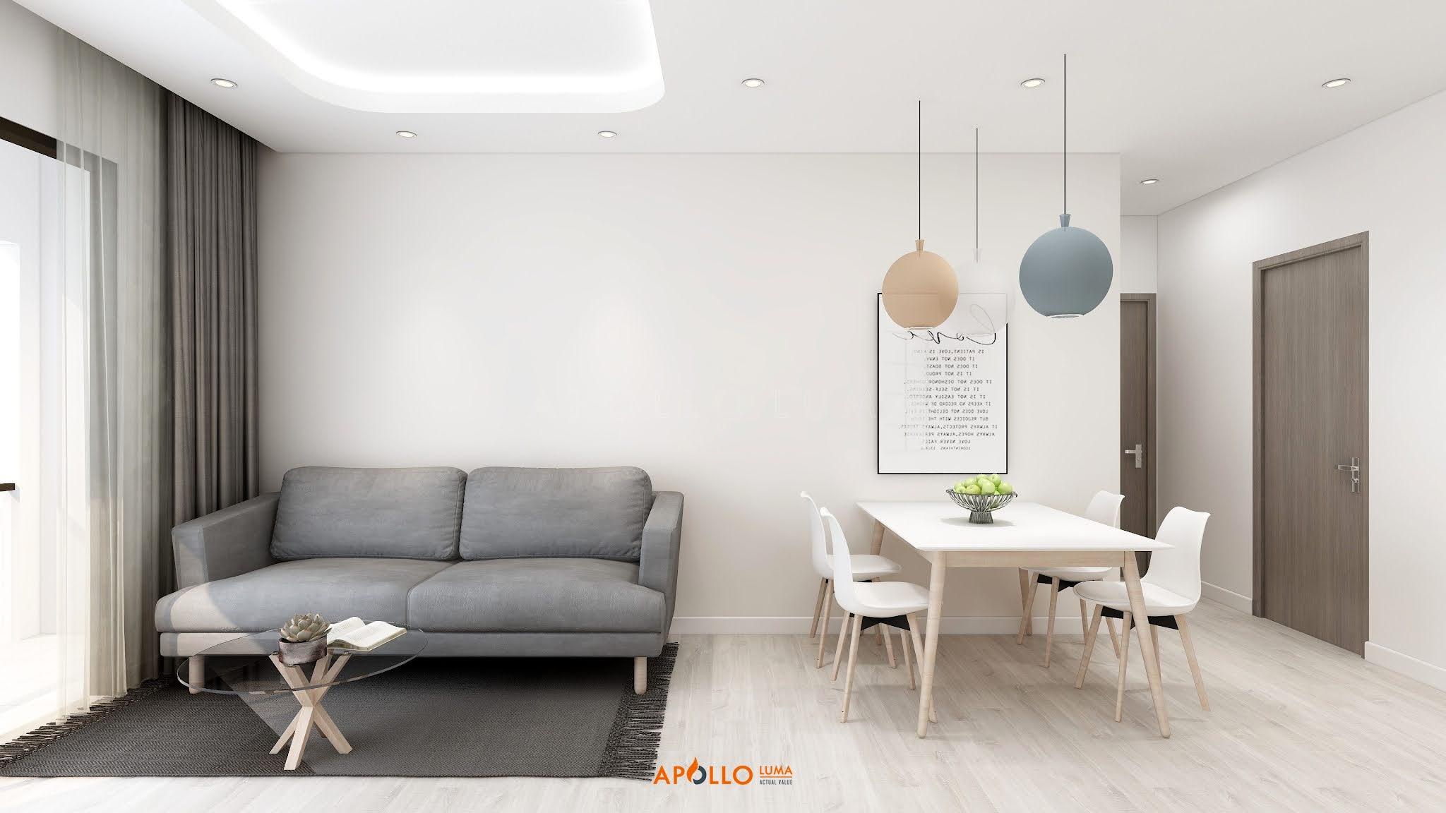 Thiết kế nội thất căn hộ 3PN The Terra An Hưng - Căn hộ số 11 (95.89m2)