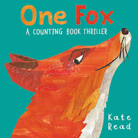 one fox: a counting book thriller by kate read book cover