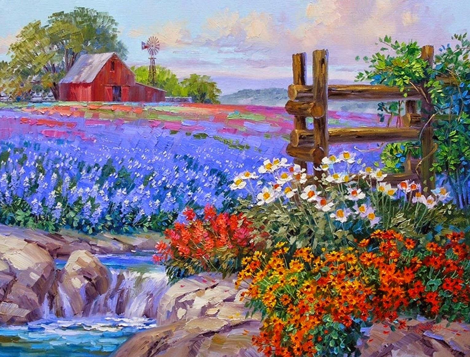violetas: PINTURAS CON ESPÀTULA