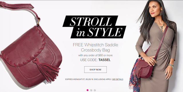 #Free Whipstitch Saddle Crossbody Bag - See Details!