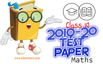CBSE Class 10 Maths Sample Question Paper (Set-3) (2019-20) - Standard (#eduvictors)(#cbseClass10Maths)